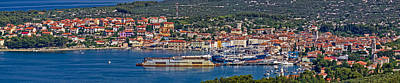 Photograph - Town Of Cres Panoramic View by Brch Photography