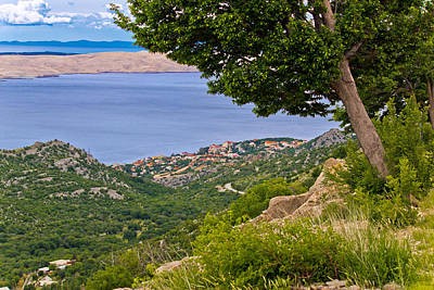 Photograph - Town Of Karlobag And Island Of Pag by Brch Photography
