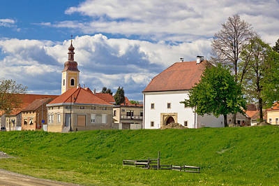 Photograph - Town Of Koprivnica Historic Architecture by Brch Photography