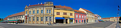 Photograph - Town Of Koprivnica Main Square Panorama by Brch Photography