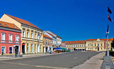 Photograph - Town Of Koprivnica Street And Architecture by Brch Photography