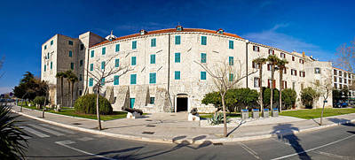 Photograph - Town Of Sibenik Museum Panoramic by Brch Photography