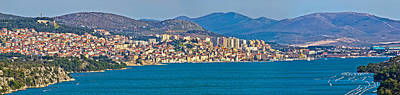 Photograph - Town Of Sibenik Panoramic View by Brch Photography