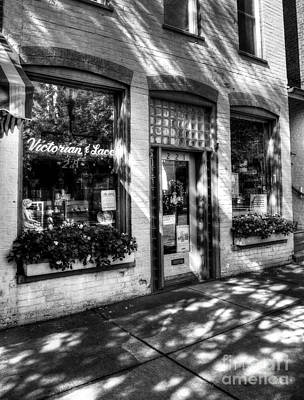 Photograph - Town Of The Rising Sun 3 Bw by Mel Steinhauer