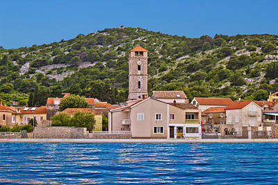Photograph - Town Of Tisno Waterfront Croatia by Brch Photography