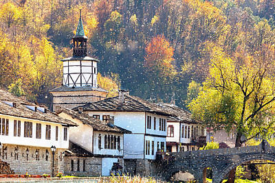 Bulgaria Photograph - Town Of Tryavna by Evgeni Dinev