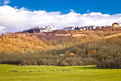 Photograph - Town Of Udbina On The Hill by Brch Photography