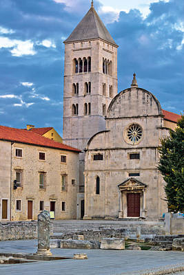 Outerspace Patenets Rights Managed Images - Town of Zadar historic church Royalty-Free Image by Brch Photography