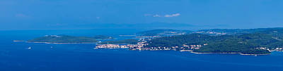 Town On An Island, Korcula, Korcula Art Print by Panoramic Images