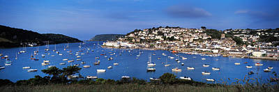 Town On An Island, Salcombe, South Art Print by Panoramic Images