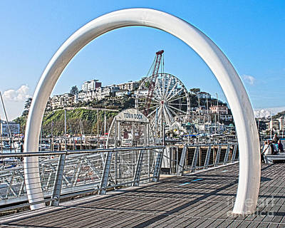 Photograph - Town Quay Torquay by Terri Waters