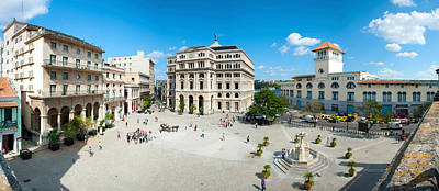 Town Square, Plaza De San Francisco Print by Panoramic Images