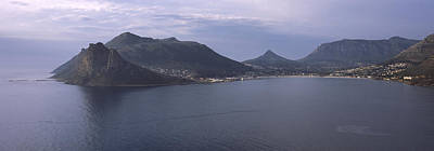 Cape Town Photograph - Town Surrounded By Mountains, Hout Bay by Panoramic Images