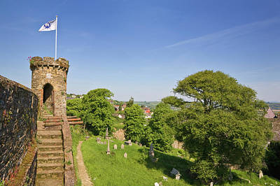 Watch Tower Photograph - Town Walls Around The 13th Century by Panoramic Images