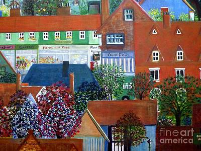 Painting - Townscape by Barbara Moignard