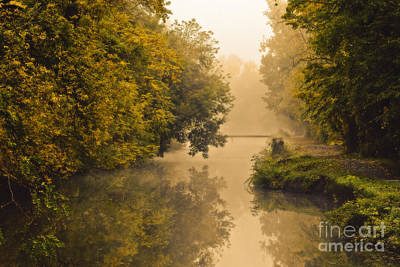 Towpath On The Champlain Canal Art Print by Julie Palyswiat