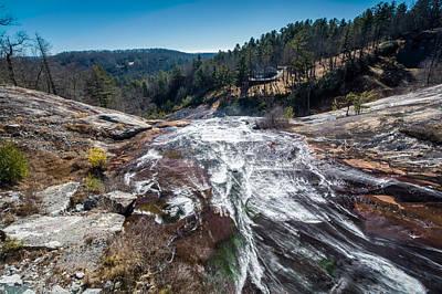 Photograph - Toxaway Falls by Randy Scherkenbach