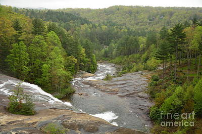 Photograph - Toxaway Waterfalls by Bob Sample