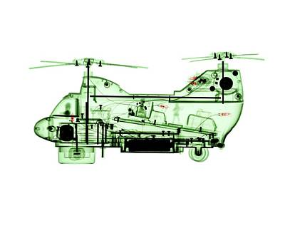 Helicopter Photograph - Toy Chinook Helicopter by Brendan Fitzpatrick