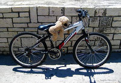 Photograph - Toy Dog On A Bike by Leena Pekkalainen