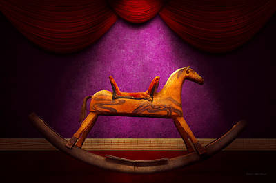 Photograph - Toy - Hobby Horse by Mike Savad