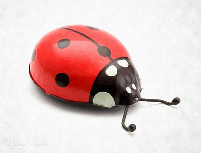 Single Object Photograph - Toy Ladybug by Danny Smythe