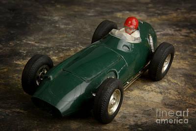 Racecar Photograph - Toy Race Car by Bernard Jaubert