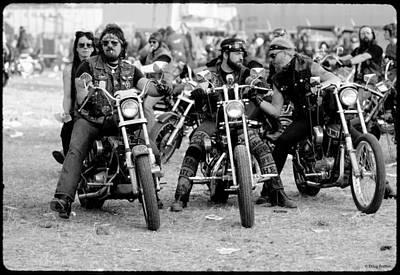 Harley Photograph - Toy Run by Doug Barber