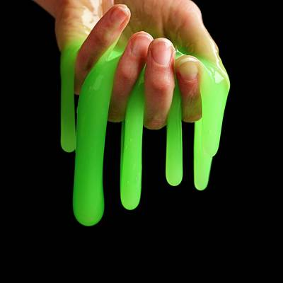 Blend Photograph - Toy Slime by Science Photo Library
