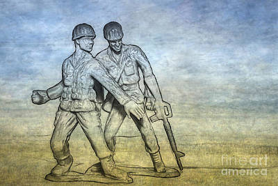 Youth Digital Art - Toy Soldiers Battle Fury by Randy Steele