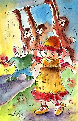 Toy Story In Lanzarote 01 Art Print by Miki De Goodaboom