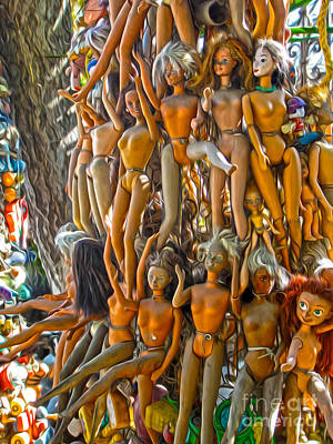 Toy Tree - 03 Art Print by Gregory Dyer