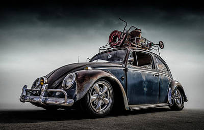 Vw Beetle Digital Art - Toyland Express by Douglas Pittman