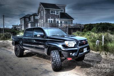 Tire Photograph - Toyota Tacoma Trd Truck by Robert Loe