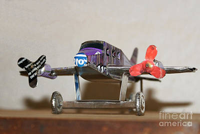 Photograph - toys made of waste in Madagascar 5 by Rudi Prott