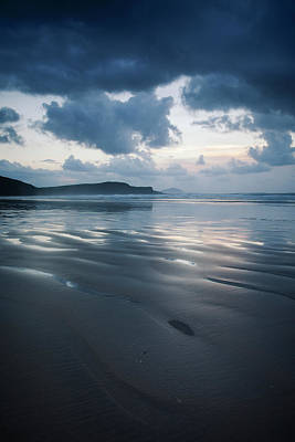 Animal Watercolors Juan Bosco - Tra Mor Beach, Near Dunfanaghy  County by Peter McCabe