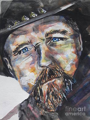 Chrisann Painting - Trace Adkins..country Singer by Chrisann Ellis