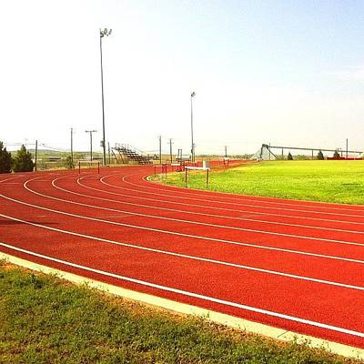 Track Photograph - #track by Judy Green