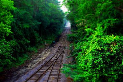 Photograph - Track Tilt  by Beverly Stapleton