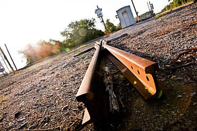 Photograph - Trackman by Sennie Pierson