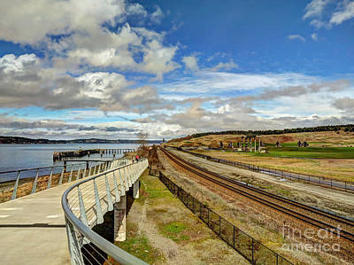 Photograph - Tracks And Rails by Chris Anderson