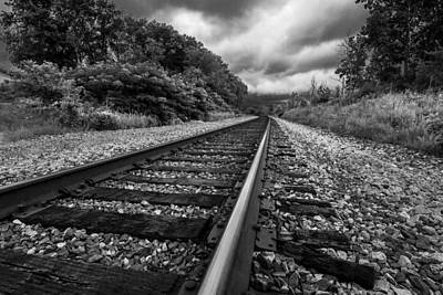 Photograph - Tracks Around The Bend by Ron Pate