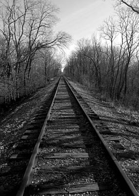 Tracks Print by Brian Amick