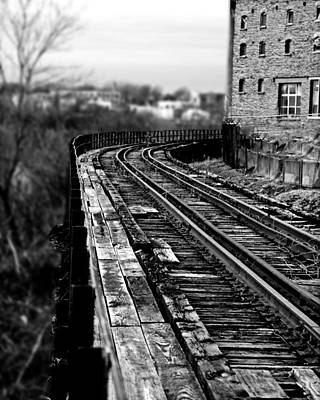 Photograph - Tracks On The Edge by Richard Engelbrecht