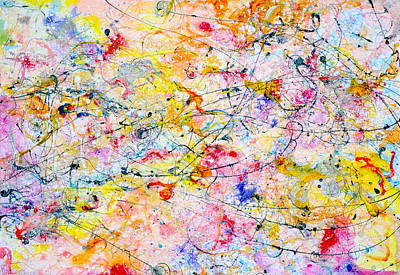 Painting - Tracks by Regina Valluzzi