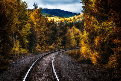Photograph - Tracks Through The Mountains  by Bob Orsillo
