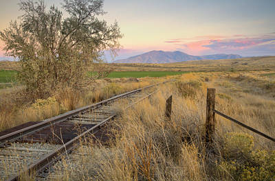 Photograph - Tracks To The Portneufs by Idaho Scenic Images Linda Lantzy