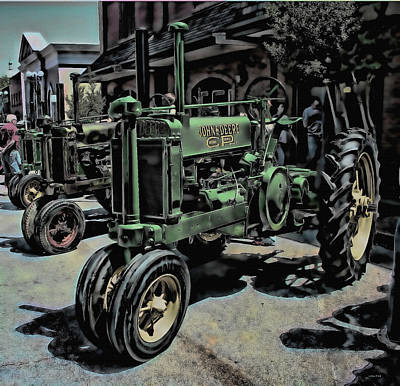 Photograph - Tractor Art by Lesa Fine