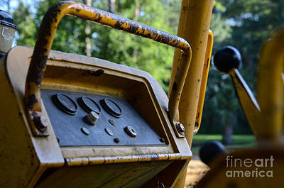 Photograph - Tractor Controls by Dale Powell