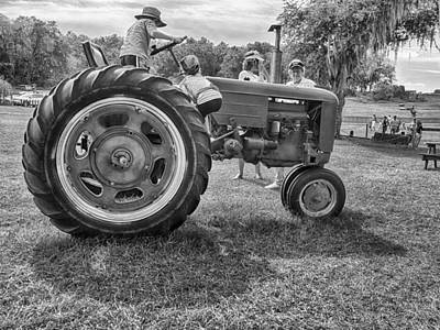 Photograph - Tractor by Howard Salmon